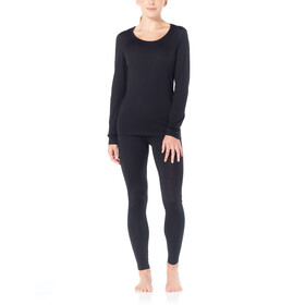 Icebreaker 200 Oasis T-shirt scoop à manches longues Femme, black
